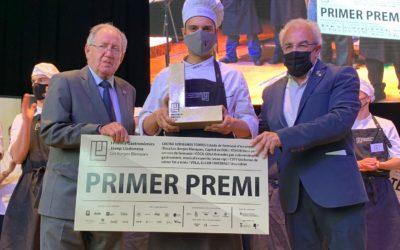 Guillem Garcia, de l'Escola Villa Retiro (Xerta), guanya el 'màster xef' del alumnes catalans de cuina