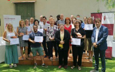 Catorze cellers representatius de la riquesa de la DO Tarragona recullen els premis del 27è Concurs de Vins